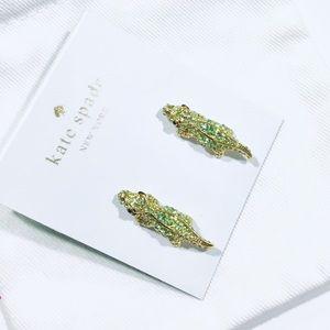 🛍Super Fun alligator Kate Spade Earrings